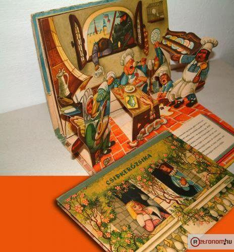 Csipkerózsika mesekönyv / Sleeping Beauty - 3D storybook of 1964. I've had it!