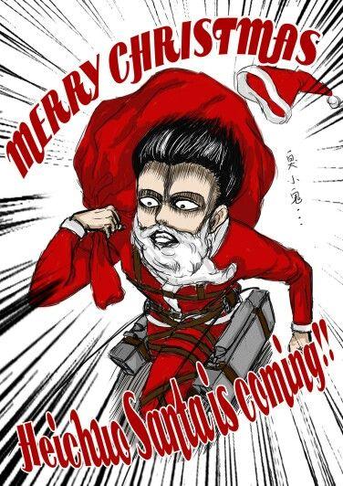 Attack on titan Christmas | Attack On Titan | Pinterest ...