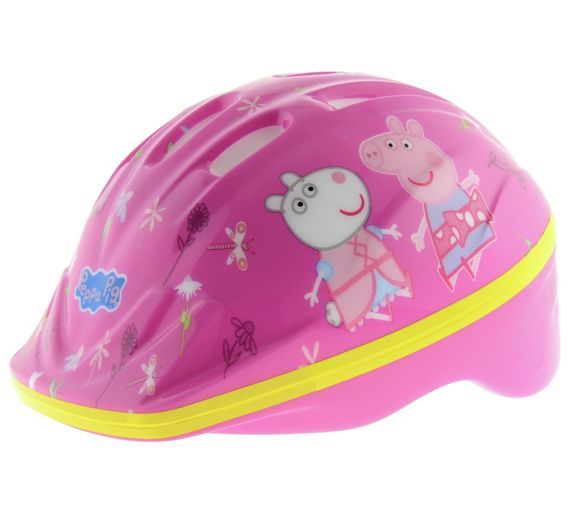 Buy Peppa Pig Bike Helmet - Unisex at Argos.co.uk, visit Argos.co.uk to shop online for Cycle helmets, Bikes and accessories, Sports and leisure