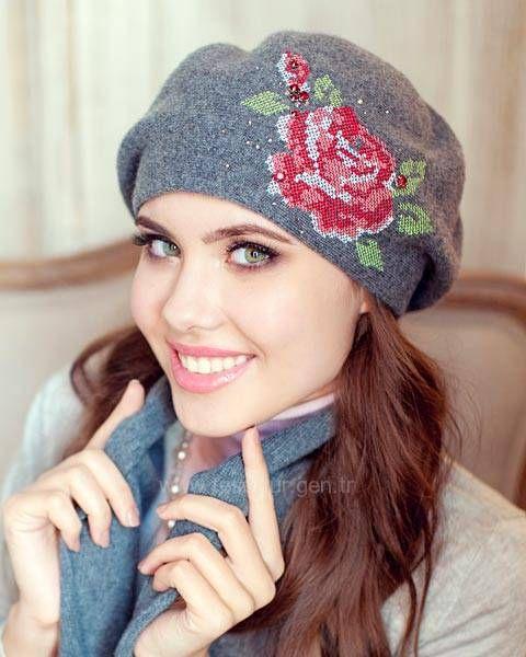 Kışlık Kadın Şapka Modelleri Model:2 - http://www.tesettur.gen.tr/galeri/300-2-kislik-kadin-sapka-modelleri.html