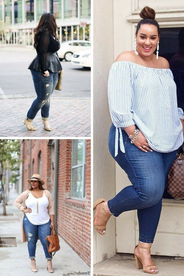 Women\'s Plus Size Casual Clothes For Summer 2019 in 2019 ...
