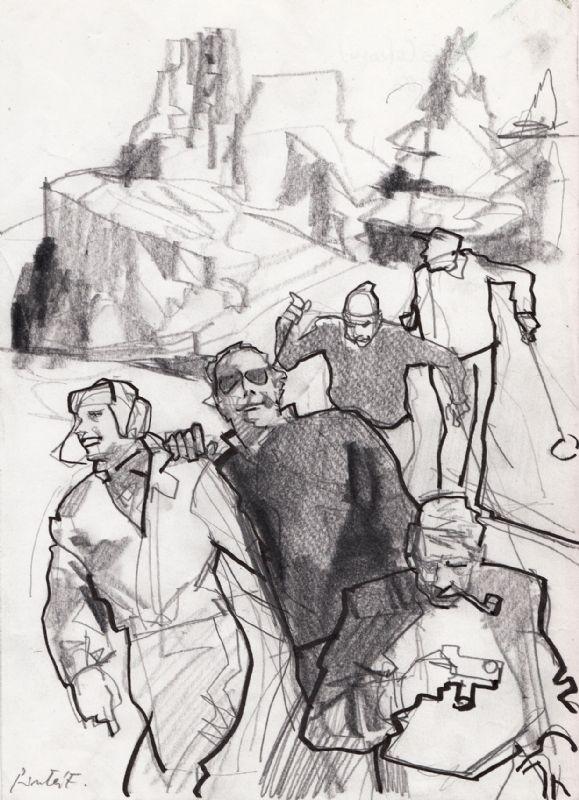 Ferenc Pinter Comic Art