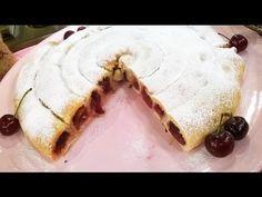 Espiral de cerezas con masa de yogur - Recetas – Cocineros Argentinos