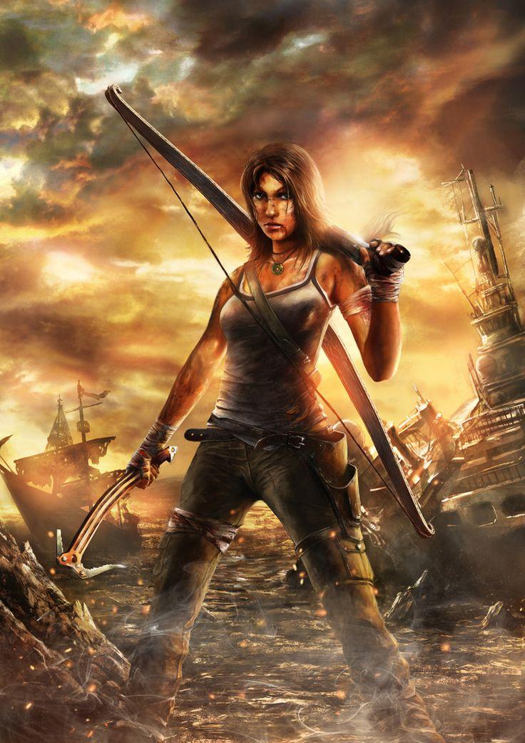 Lara is back by CyrilT.deviantart.com on @DeviantArt
