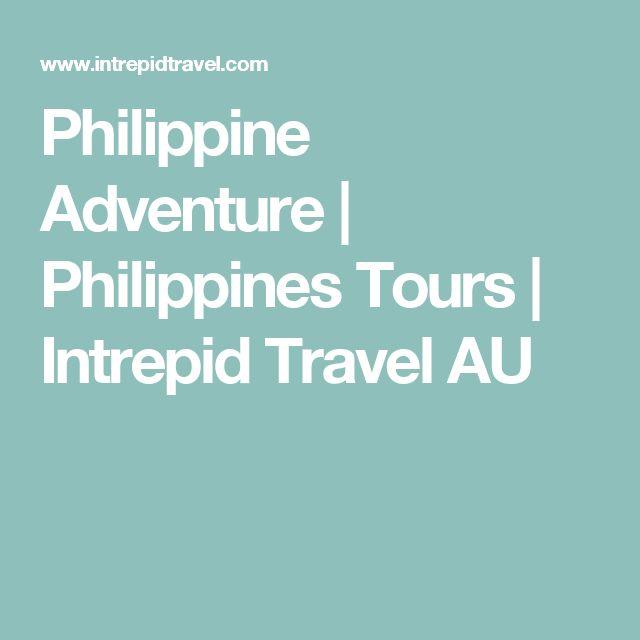 Philippine Adventure   Philippines Tours   Intrepid Travel AU