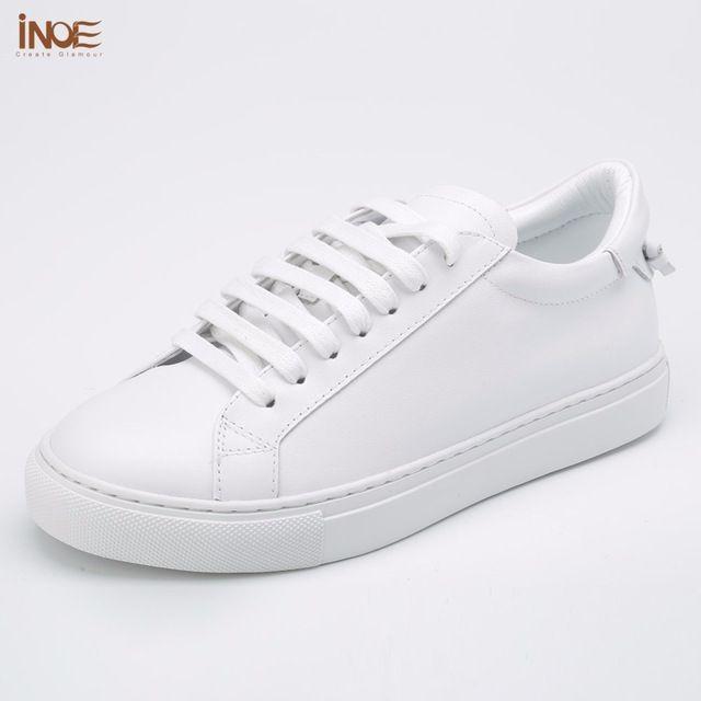 ИНОЕ новая мода стиль подлинная кожа коровы повседневная весна свадебная обувь для женщин квартиры досуг летняя обувь высокого качества белый