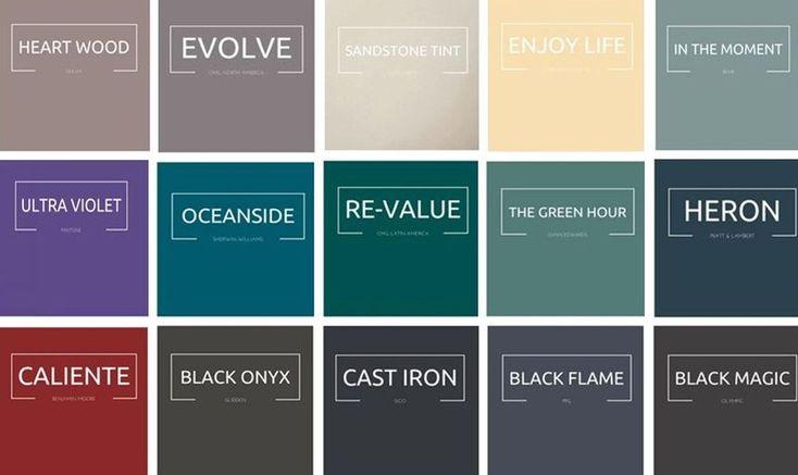 Culorile anului 2018 în design interior