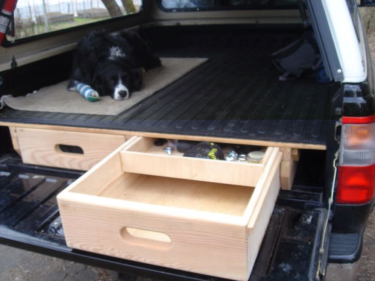 50 best images about diy on pinterest ultimate garage diy cabin and 4x4 - Diy truck bed storage ...