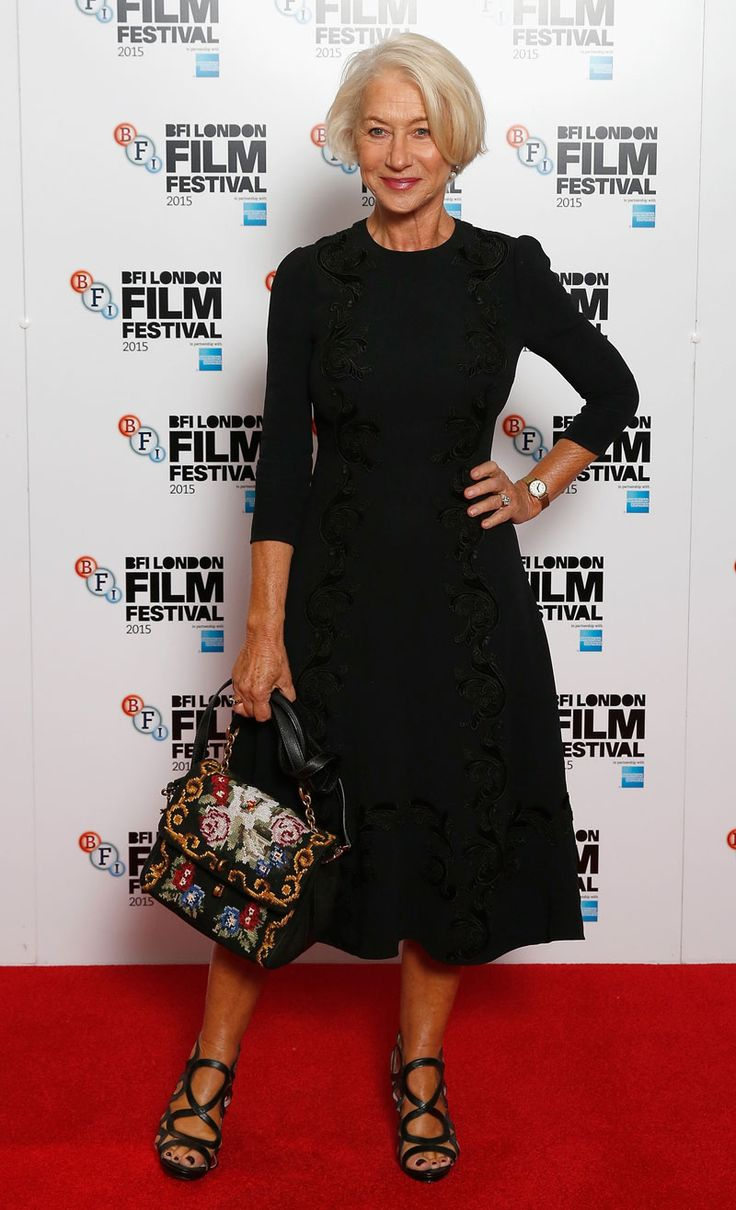 Helen Mirren (who my husband recently referred to as his dream date, as if his taste hadn't already been proven to be exceptional).