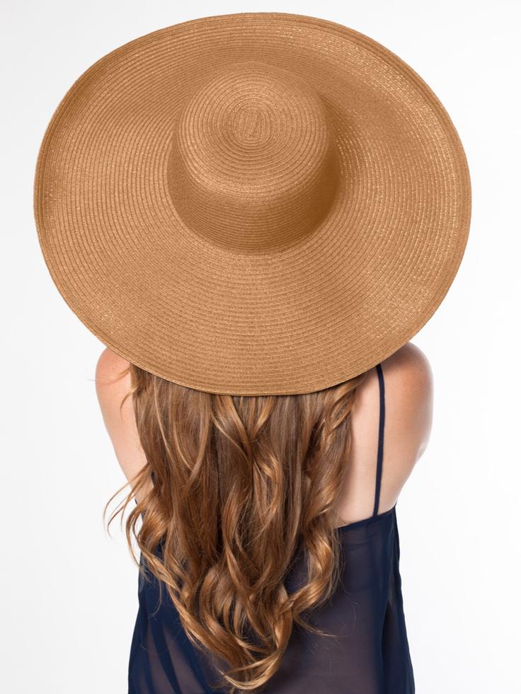 American Apparel - Floppy Summer Hat (wire brimmed)