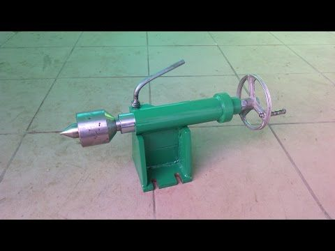 Homemade lathe part 1 - YouTube