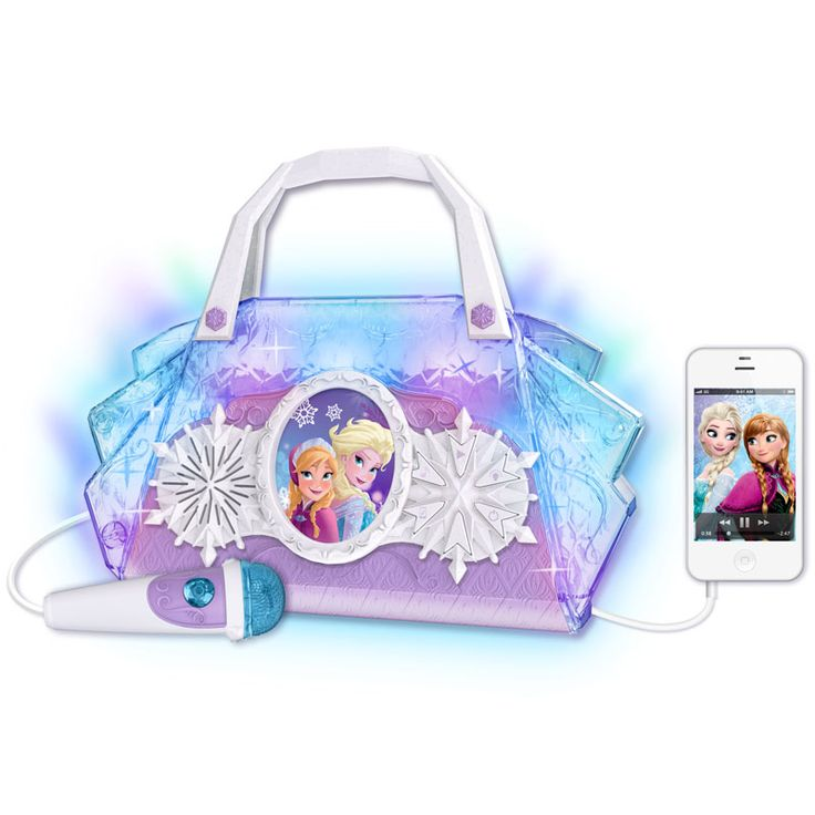 Disney Frozen Sing-along Boombox - Your little princess is sure to sing her heart out with this adorable boombox inspired by the hit movie Frozen.