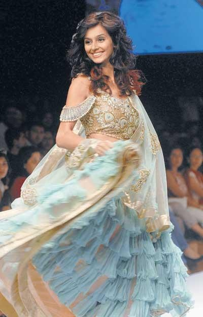 Showstopper: Payal Singhal. Hamara ik pasandeeda outfit!