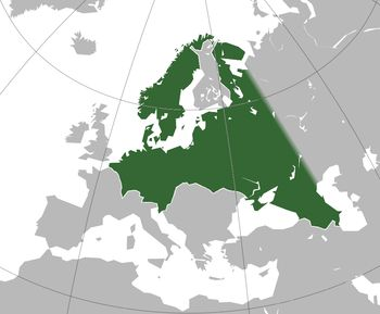 "The ""Greater Germanic Reich"" was to be realised with the policies of Lebensraum, and the boundaries were to derive from the plans of the Generalplan Ost, the state administration, and the Schutzstaffel (SS), to include the Ural Mountains."