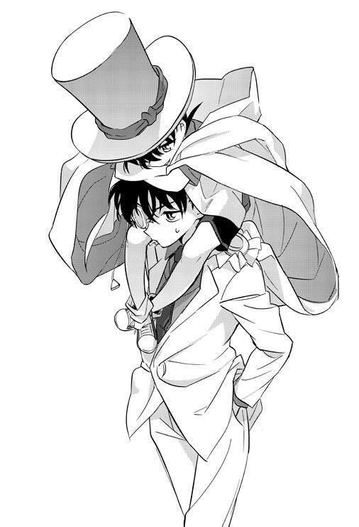 Kaito Kuroba/Kaito Kid and Conan/Shinichi