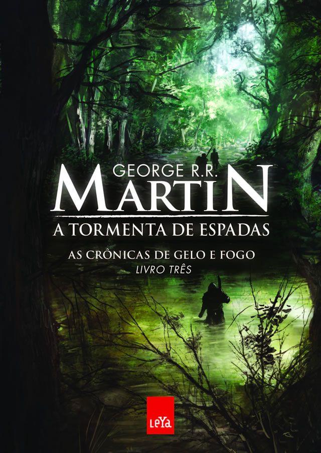 """Crônicas de gelo e fogo - livro 3 - o volume """"vermelho"""". Na Guerra dos Tronos qualquer um pode perder."""