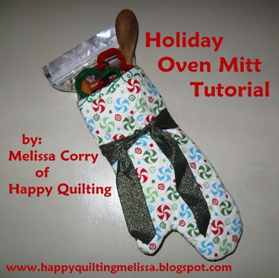 I want to make some of these - with Christmas fabric...if I have time :): Holidays Ovens, Quilts Stories, Mitts Tutorials, Gifts Ideas, Cute Ideas, Christmas Stockings, Handmade Christmas Gifts, Ovens Mitts, Crafts