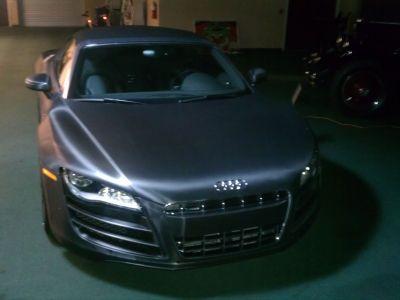 Matte Black 2011 #Audi R8 5.2 quattro Spyder   $161,750 http://www.iseecars.com/used-car-finder#id=1540251321