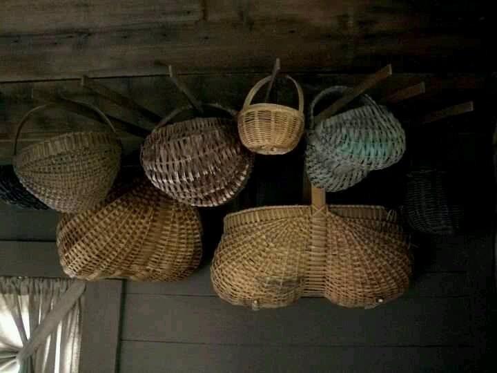 Old Baskets...Sandy Stevens.