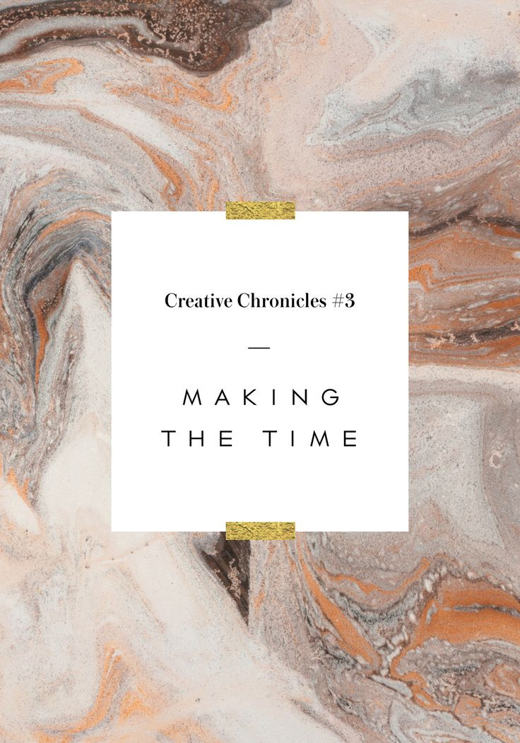 Creative Chronicles #3: Making The Time To Do The Work Plus 5 Tips For Staying Accountable | Nubby Twiglet