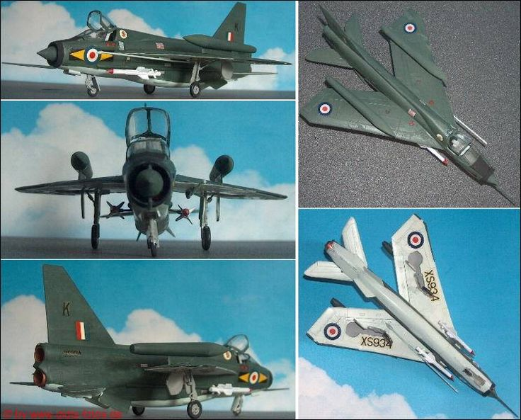 "BAe (English Electric) ""Lightning"" T.Mk.55 Trainer (Matchbox 126) 1:72"