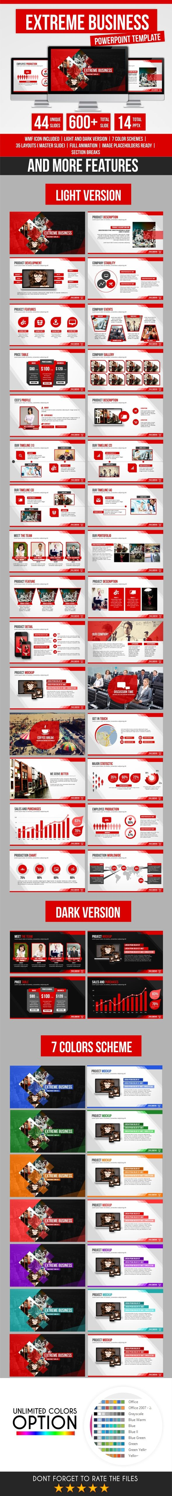 EXTREME BUSINESS POWERPOINT TEMPLATE on Behance, maybe less angles and adjust red for new look