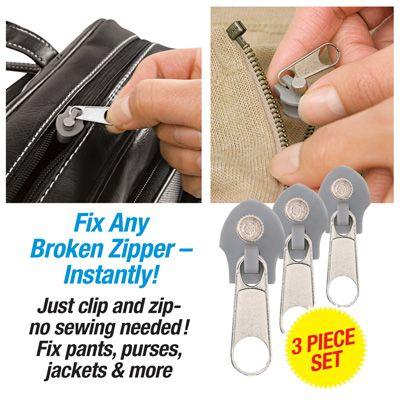 best 25 fix broken zipper ideas on pinterest zipper repair near me zipper repair and fix a. Black Bedroom Furniture Sets. Home Design Ideas