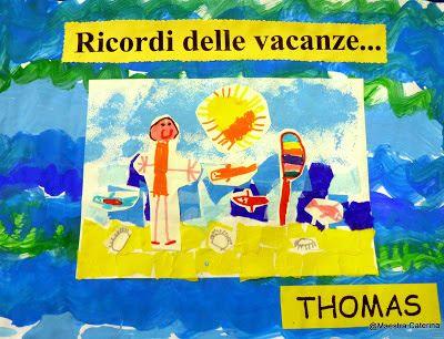 Primi giorni di scuola: Ricordi delle vacanze