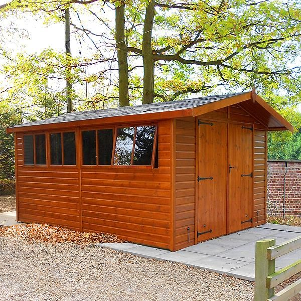 the malvern stanford shed is a garden building that can be customised to fit your requirements