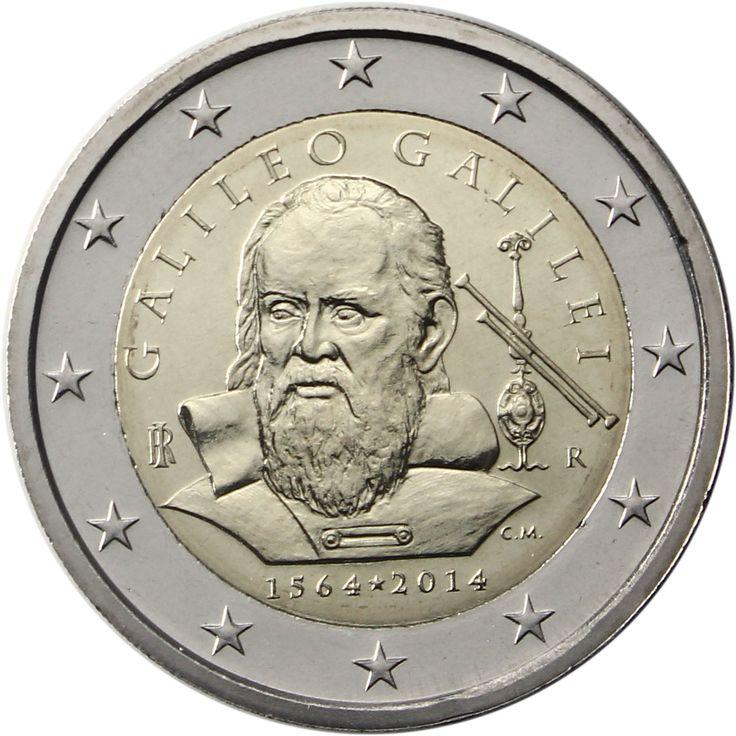 2 euro Galileo Galilei 2014