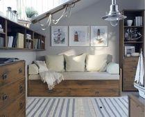 Pomysł na skosy - jak je wykorzystać Sypialnia