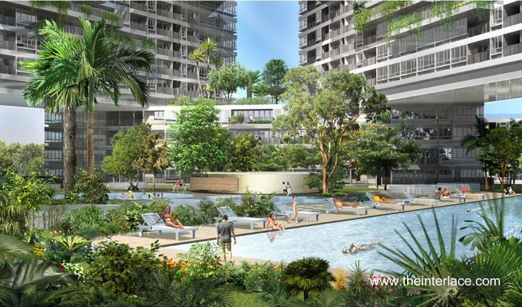 The Interlace -  Pool Side