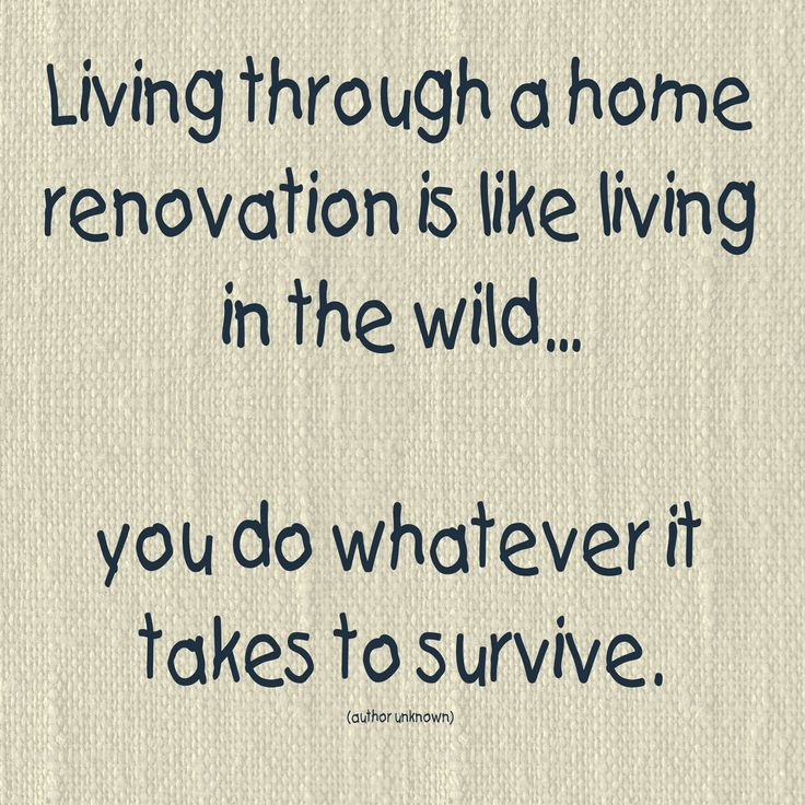 54 best images about home improvement humor on pinterest for Bathroom renovation quote