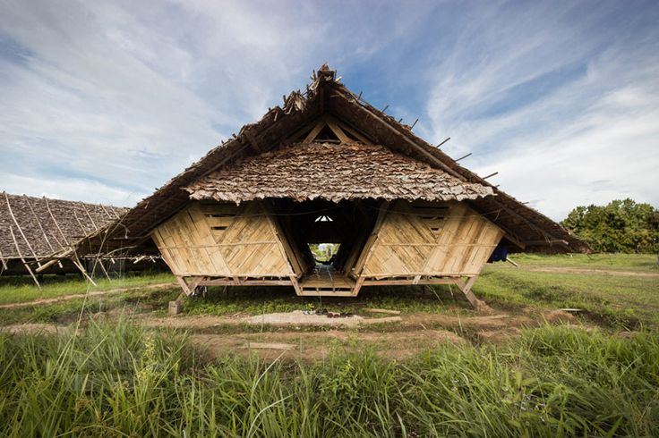 TOP 10 temporary structures of 2013 - temporary dormitories for mae tao clinic by a.gor.a architects