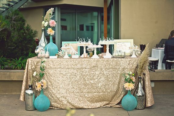 Art Deco Southern California wedding | Photo by Amy Lynn Photography | Read more - http://www.100layercake.com/blog/?p=66999