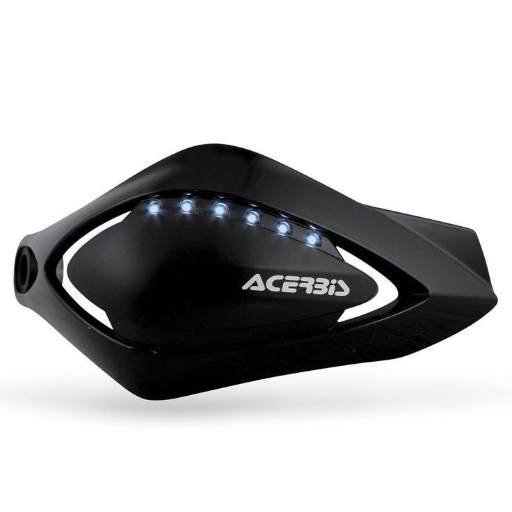 Χούφτες Προστατευτικές Μαύρες ACERBIS Flash Scooter LED