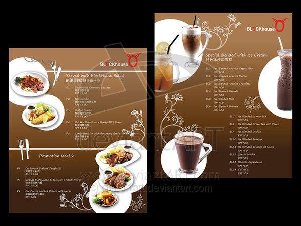 blockhouse food menu by chris11art on DeviantArt