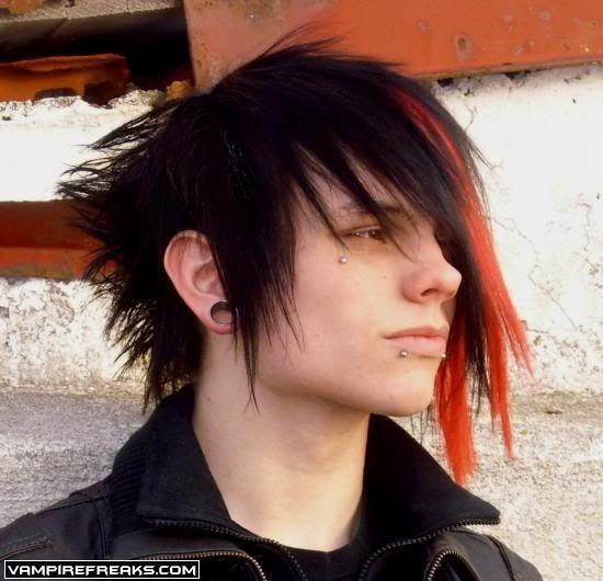 men's emo fashion | ... Emo Hairstyle - Emo Haircuts - Emo Hair Fashion: free fashion emo boys
