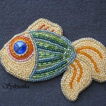 Fish broszka  www.KuferArt.pl