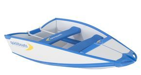 Quickboats are Folding Boats. No trailers, no storage hassles. Fast, capable and strong.Perfect weekend small fishing boats. Small boats like never before.