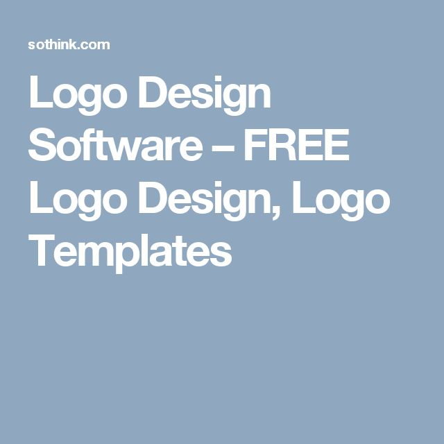 Logo Design Software – FREE Logo Design, Logo Templates