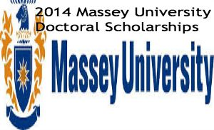 2014 Massey University Doctoral Scholarships. Applications are invited for Massey University Doctoral Scholarships available for domestic and international students. All applicants for the Massey University Doctoral Scholarships are considered for the Vice-Chancellor's Scholarships. - See more at: http://www.scholarshipsbar.com/2014-massey-university-doctoral-scholarships.html#sthash.UjDsuK2B.dpuf