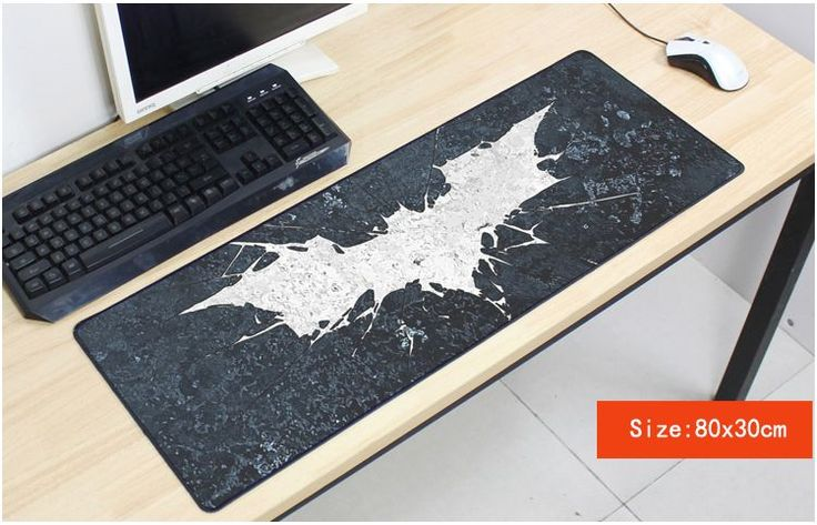 Batman mousepad 800x300mm pad to mouse notbook computer