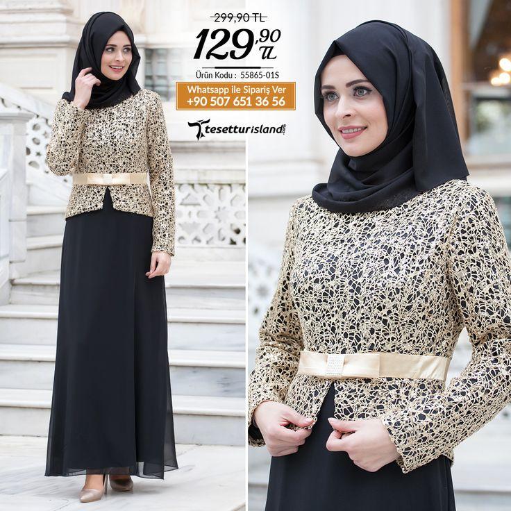Nayla Collection -Siyah Abiye Elbise #tesettur #tesetturabiye #tesetturelbise #tesetturgiiyim