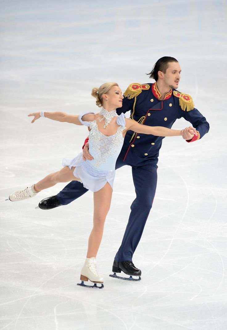 Sochi 2014 Russian team figure skating pair Volosozhar and Trankov