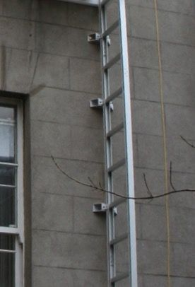 Fire Escape Folding Ladder Balcony Pinterest Fire