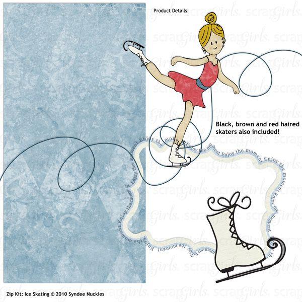 Image result for printable ice skate border