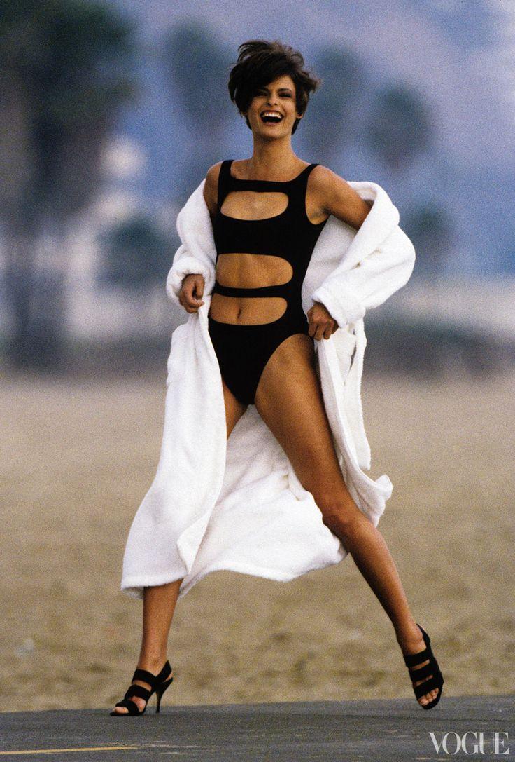 Mode Supermodels decken 1990 ab