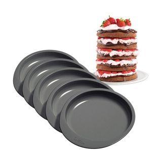 WILTON EASY LAYERS 6IN CAKE PAN SET