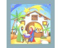 20 3-Ply Nativity Scene Napkins